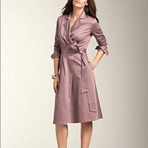 Talbot's Lavender Wrap Dress